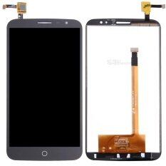 IPartsBuy For Alcatel One Touch Hero 2C / 7055 LCD Screen + Touch Screen Digitizer Assembly(Black)