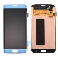 IPartsBuy For Samsung Galaxy S7 Edge / G9350 / G935F / G935A / G935V Original LCD Display + Touch Screen Digitizer Assembly(Blue)