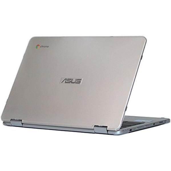 Ipearl Mcover Keras Cangkang Kasus untuk 12.5-Inci ASUS Chromebook Lipat C302CA Seri Laptop-Bening-Internasional