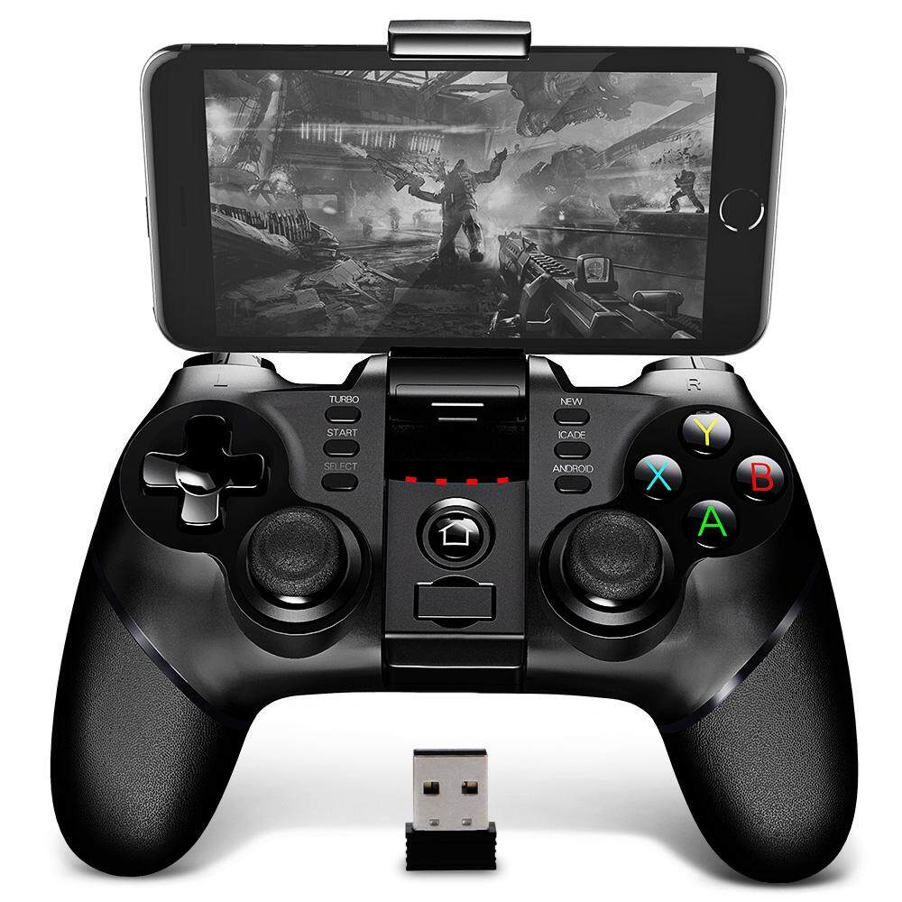 Low Cost Ipega 9076 Bluetooth Gamepad With Bracket 2 4G Wireless Receiver Intl