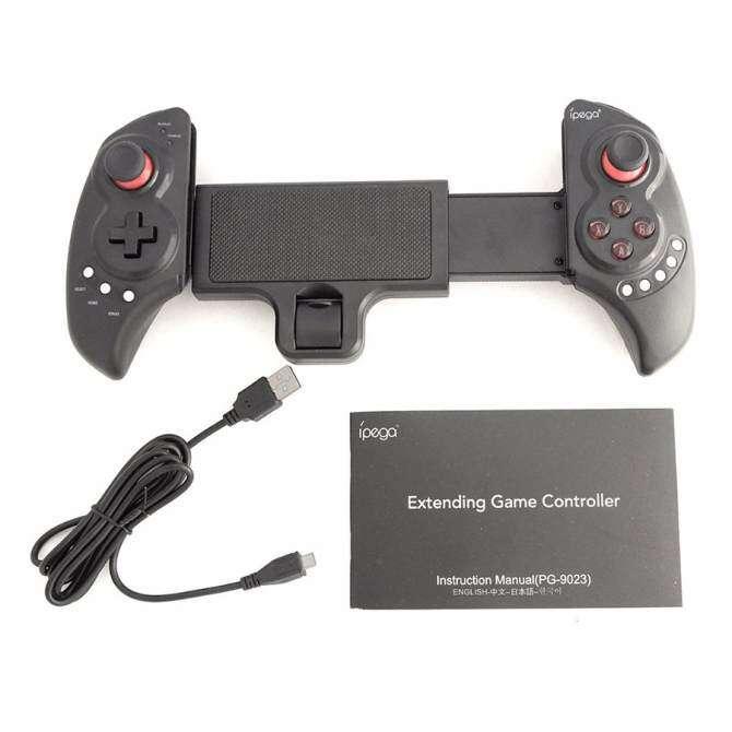 Hình ảnh IPEGA PG-9023 PG 9023 Wireless Bluetooth Gamepad Android Telescopico Controller di Gioco Joystick Per Il Telefono/pad/Android IOS Tablet PC