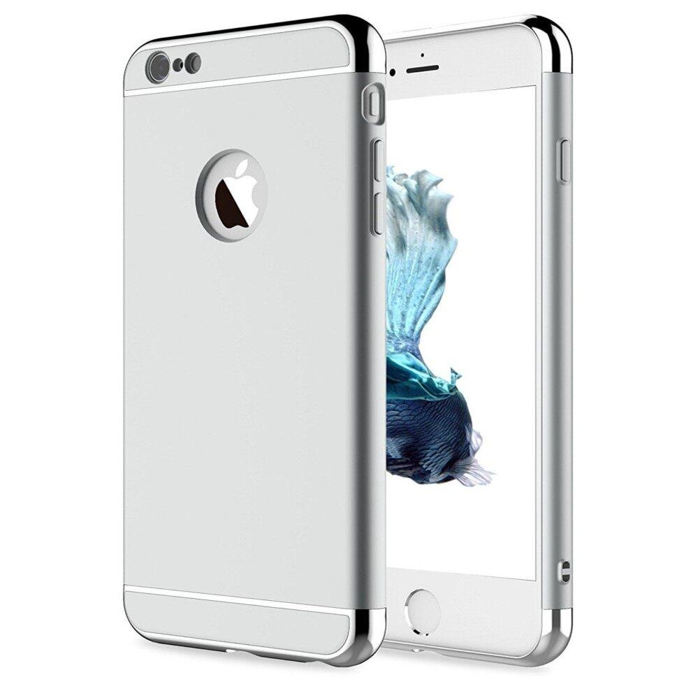IPhone 8 Case iPhone 7 Case, Luxury 3 Dalam 1 Case Keras Sangat Ramping Dapat