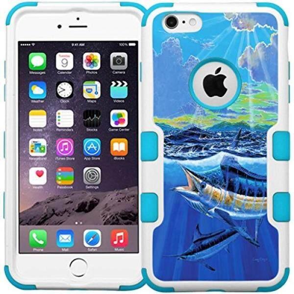 Iphone 6 S Plus/6 Plus (5.5 Inch) Case-Armatus Perlengkapan (TM) pancing Seri Telepon Case Hibrida Pelindung Sarung untuk Apple iPhone 6 S Plus/iPhone 6 Plus-Dilisensi Secara Resmi karya Seni-Biru Marlin-Internasional