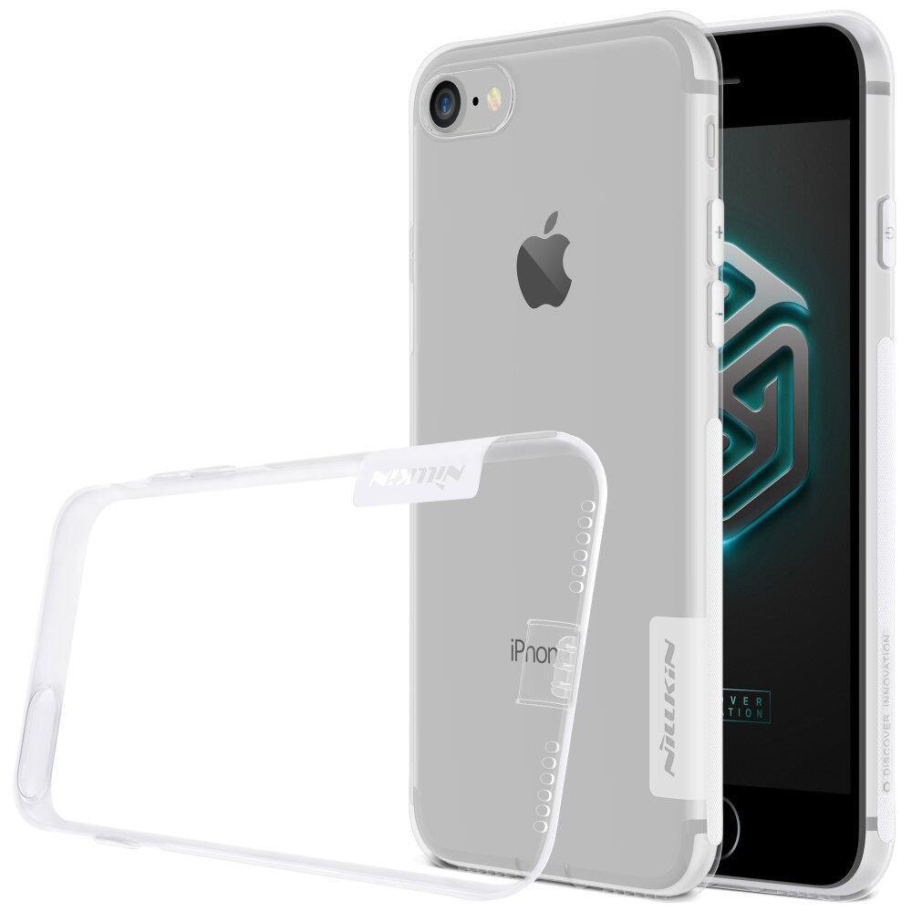 IPhone 7 Tpu Case NILLKIN Slim Yg Tahan Pukulan Bumper Lembut TPU Cover Case untuk iPhone 7 (Warna: C0)-Intl
