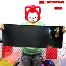 IronMan 80 x 30 x 0.2cm A06 Gaming Mat Non-slip Anti Fray Stitching High Quality Beautiful Mouse Pad Malaysia