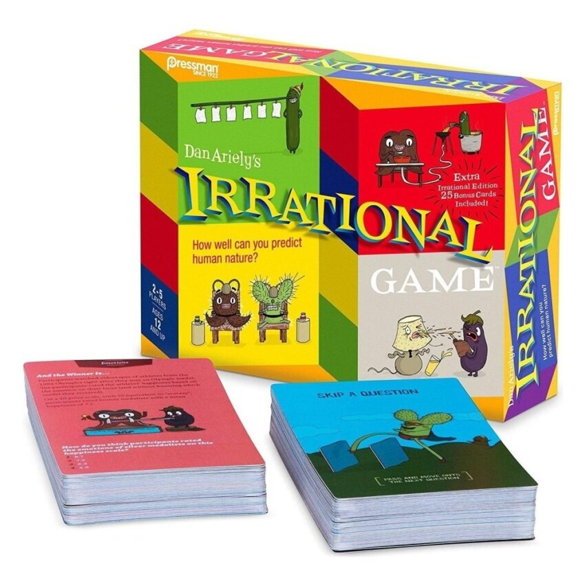 Irrational Game with Bonus Card Game - intl