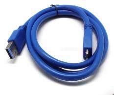 Ishowmall 1 M/3FT USB 3.0 Ke MICRO B Power + Data Sync Tali Kabel untuk Eksternal Hard Disk Drive HDD