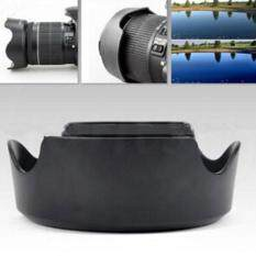 ISM Creative Camera Lens Cap Camera Lens Hood Photo Lens Shade Len Cover New Portable Plastic Flower Reversible Backlight Photography Canon EW63C
