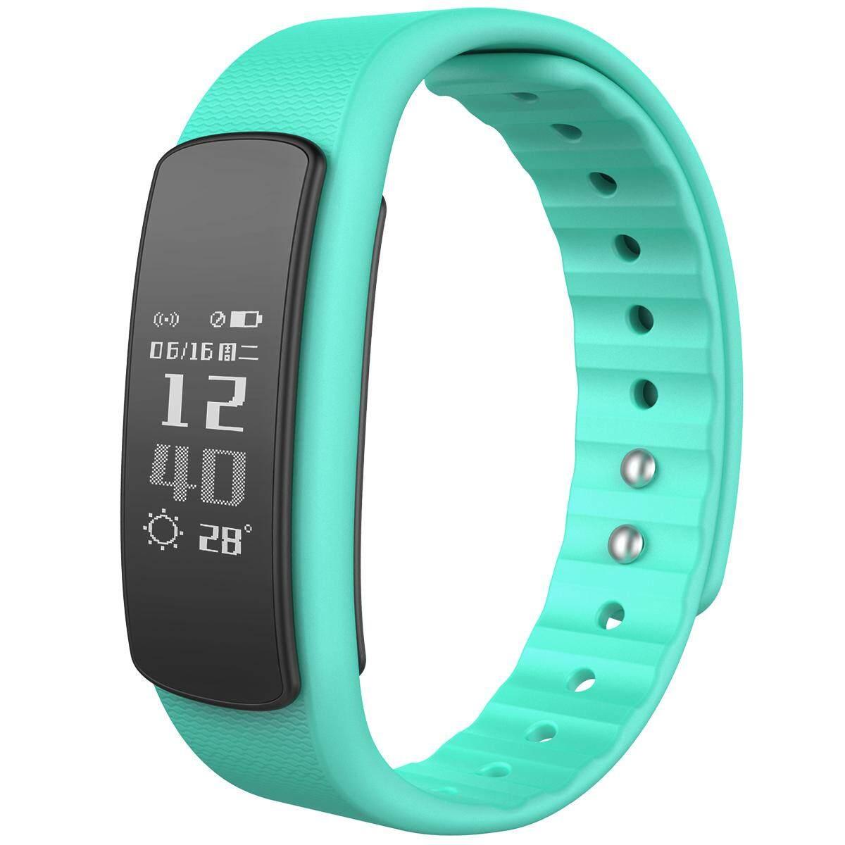 iwownfit I6HR TPU + TPE Bluetooth v4.0 IP67 Smart Wristband - Green - intl
