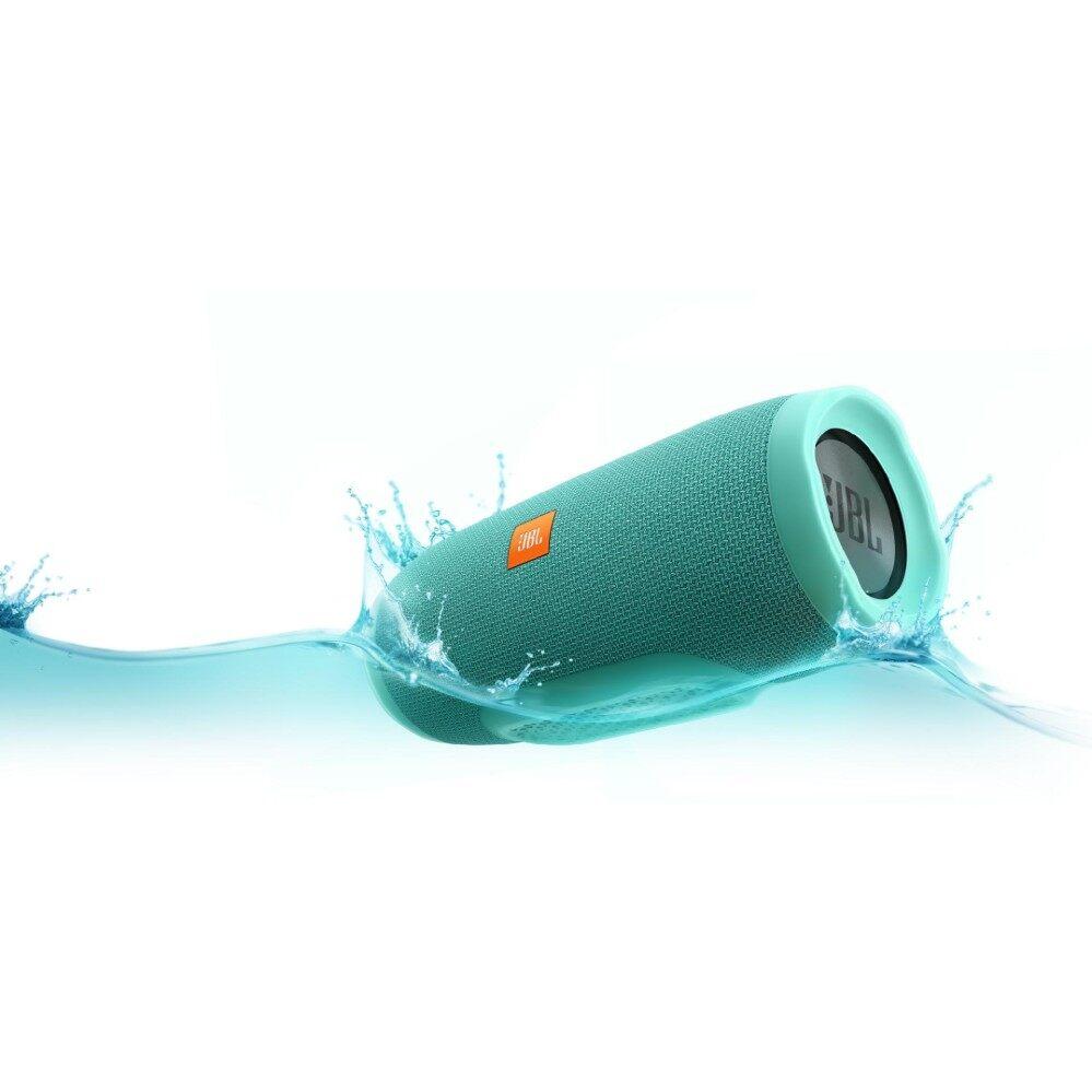 JBL Charge 3 Portable Bluetooth Speaker (Teal)