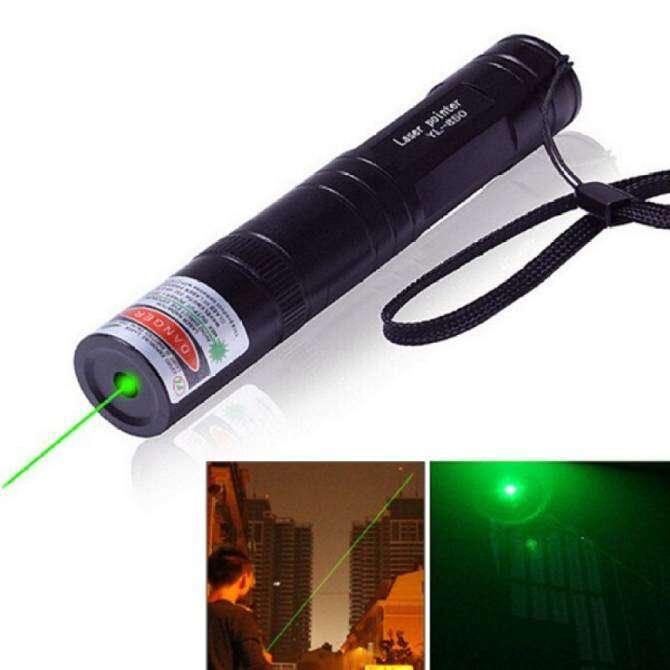 10pcs 301 Laser Pointer Pen Light Focus Lazer Visible Beam 650nm 5mw Red - intl