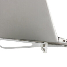 Jetting Buy  Laptop Cooling Stand Portable Plastic  white   - Intl Malaysia