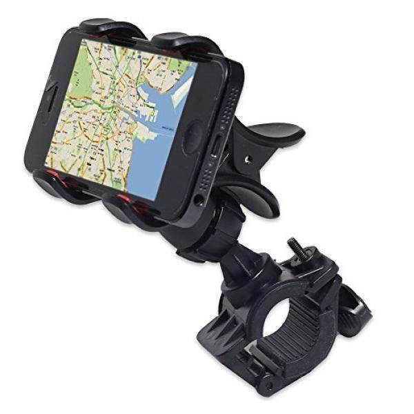 JIAFENG New Universal Easy Clip-Grip Handlebar Bike Mount Holder for iPhone 4 4S 5 5S, Samsung Galaxy S5 S4 S3, Note 3 Note2, HTC One, HTC and other smart phones, GPS devices. (Black) - intl