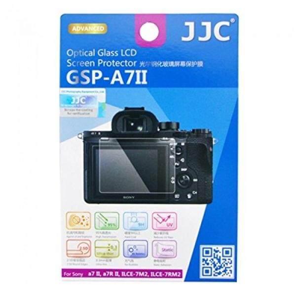 JJC Gsp-a7ii Optisches Glas Layar LCD F? R Sony A7II/A7RII/ILCE-7 M2/7RM2 Kamera? Transparan-Internasional