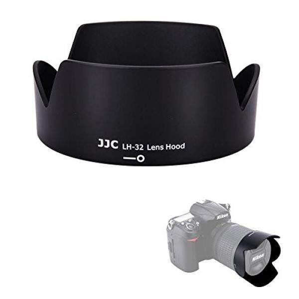 JJC Reversibel Lensa Khusus Tudung Pelindung untuk Nikon AF-S DX 18-140 Mm F/3.5-5.6G ED VR, AF-S DX 18-105 Mm F/3.5-5.6G ED VR, AF-S DX 18-135 Mm F/3.5-5.6G ED Jika nikon HB-32 Lensa Pengganti Hood-Intl