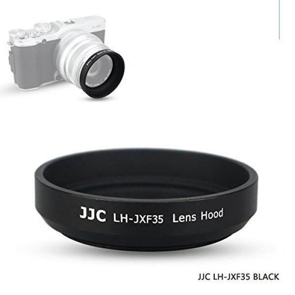 JJC Screw-in Black Lens Hood for Fujifilm XF 35mm f/2 R WR Lens, Canon EF-M 22mm f/2 STM Lens, Samsung NX 20mm F2.8 Pancake Lens - intl