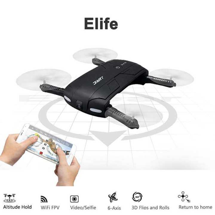 JJRC H37 ELFIE Foldable Selfie WiFi FPV 720PHD G-sensor Headless Mode Mini Quadcopter Drone