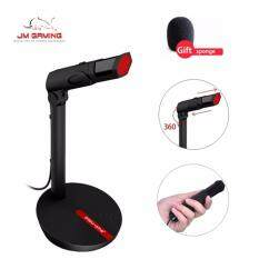 【JM GAMING MALAYSIA】JM GAMING UK3 5 / usb POPU PINE New Fashion 3 5mm Wired  Microphone For Laptop Desktop Computer PC ,Condenser Omnidirectional Noise
