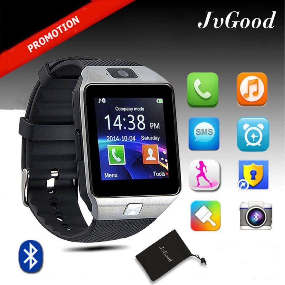 Xindacheng Jvgood Bluetooth Pintar Jam Tangan Sentuh Layar Jam Tangan Pintar Pergelangan Tangan