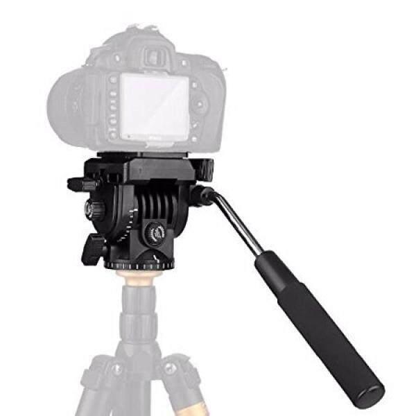 Kamera Stativ Tindakan Cairan Drag Pan Kepala 1/10, 2 Cm Schnellwechselplatte F? R Perkakas Bertualang DSLR Kamera Camcorder Shooting Filmen-Intl