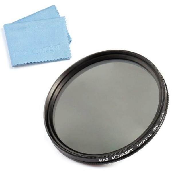 K & F Concept 58 Mm Slim Filter CPL Objektiv Zubeh? R Objektivfilter Kamera Zubeh? R F? R Canon 600D EOS M M2 700D 100D 1100D 1200D 650D DSLR Kamera + Reinigstuch F? R Objektive-Intl