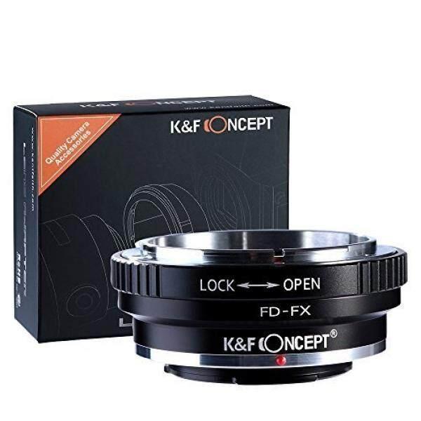 K & F Concept Canon FD Objektiv Adaptor Fujifilm X-Mount FX X100 X-A1 X-A2 X-E1 X-E2 X-M1 X-Pro1 x-Pro2 X-S1 X-T1 X-T10 X-T20 X-T2 X10 X20 X30 X70 XF1 XQ1 XQ2 X Lensa Seri Camera Kamera Bajonett X -Intl