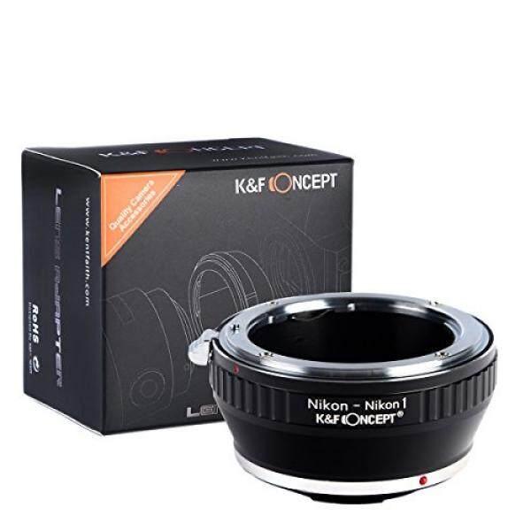 K & F Concept Nikon-F AI Objektiv Adaptor F? R Nikon-1 Kamera S-Serie Nikon 1 S1 S2 J-Serie J1 J2 J3 J4 J5 v-Serie V1 V2 V3 Aw-Serie AW1 Systemkamera Lensa Kamera Objektivadapter Bajonett ADAPTER-Ring-Intl
