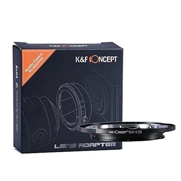 K & F Concept Om Olimpus Canon EF EOS Objektiv Adaptor 5D Mark II 7D 20D 60D 70D 100D 400D 450D 500D 550D 600D 700D 1000D 1100D Adapterring Lensa EFS Camera Kamera Bajonett Kiss-X T2I T3 XS XSI T1i Pemberontak -Intl