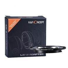 K&F Concept Olympus OM Canon EF EOS Objektiv Adapter 5D Mark II 7D 20D 60D 70D 100D 400D 450D 500D 550D 600D 700D 1000D 1100D Adapterring EFS lens camera Kamera Bajonett Kiss-x T2I t3 XS XSI t1i Rebel