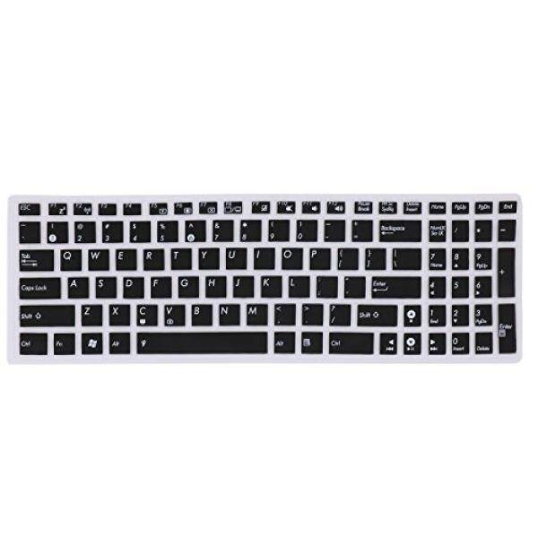Keyboard Cover Silicone Rubber Skin for ASUS 15.6 inch F555 F555LA/LB/LD/LJ F556UA P2540UA GL502VS UX501VW X540LA/SA X550ZA K501UX K501UW GL552VW Laptop US Layout - intl