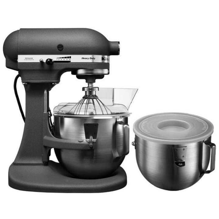 Grey Kitchenaid Mixer: KitchenAid 5KPM50B Bowl-Lift Heavy Duty Stand Mixer Grey