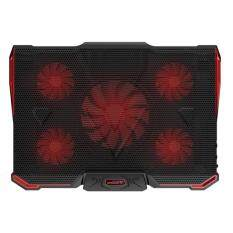 Kobwa Laptop Cooling Pad, 14-17 Inch Laptops With Five Stong Fans TNB-K0033 (Black) Malaysia