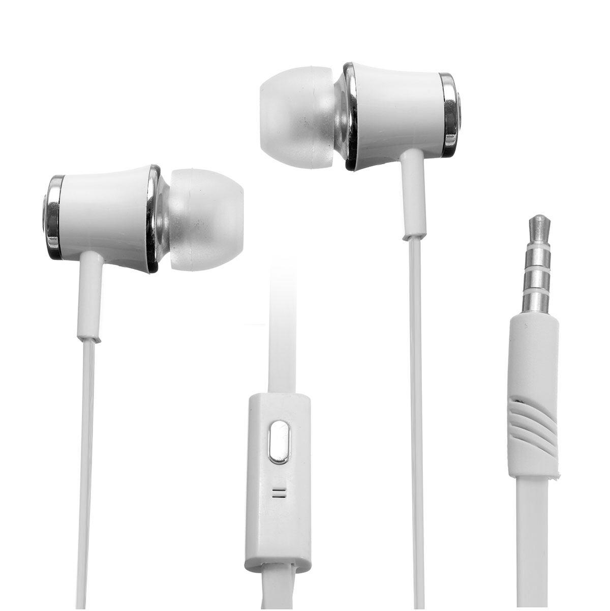 Langston Langsdom JM21 3.5 Mm In-Ear Earphone Stereo Headphone dengan Mikrofon-Intl