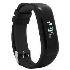 lanyasy Bluetooth Smart Band P1 Heart Rate Blood Pressure Fitness Track Pedometer Sport Wristband Cicret Bracelet