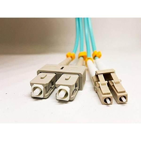 LC Ke SC OM3 10 GB Kabel Stiker Multimode Serat Optik. israel Teknologi Terdepan, OM3, serat Rangkap 50/125 Ofnp Mikron Serat Stiker Kabel Lc Ke SC 10 M (32.8ft), Kabel SFP, 3 Mm PVC. Oleh Yushong-Internasional