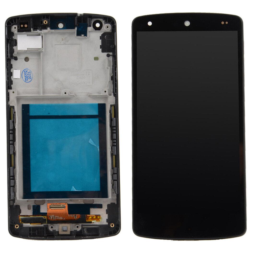 LCD Display Touch Screen Digitizer +Frame For LG Google Nexus 5 D820 D821- -