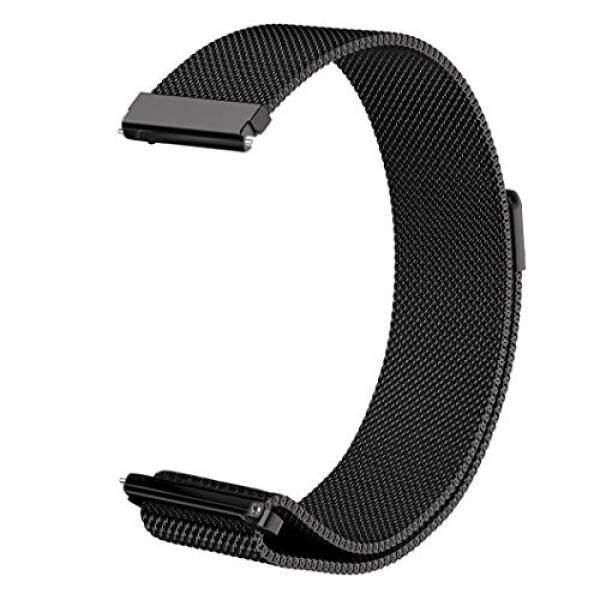 Compare Prices For Ldfas Vivoactive 3 Band Quick Release Milanese Stainless Steel Metal Strap With Magnetic Closure Clasp For Garmin Vivoactive 3 Vivomove Hr Smartwatch Black
