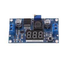 Dc-Dc Digital Boost Step-Up Voltage Converter Lm2596s 4-40v With Voltmeter By Crystalawaking.