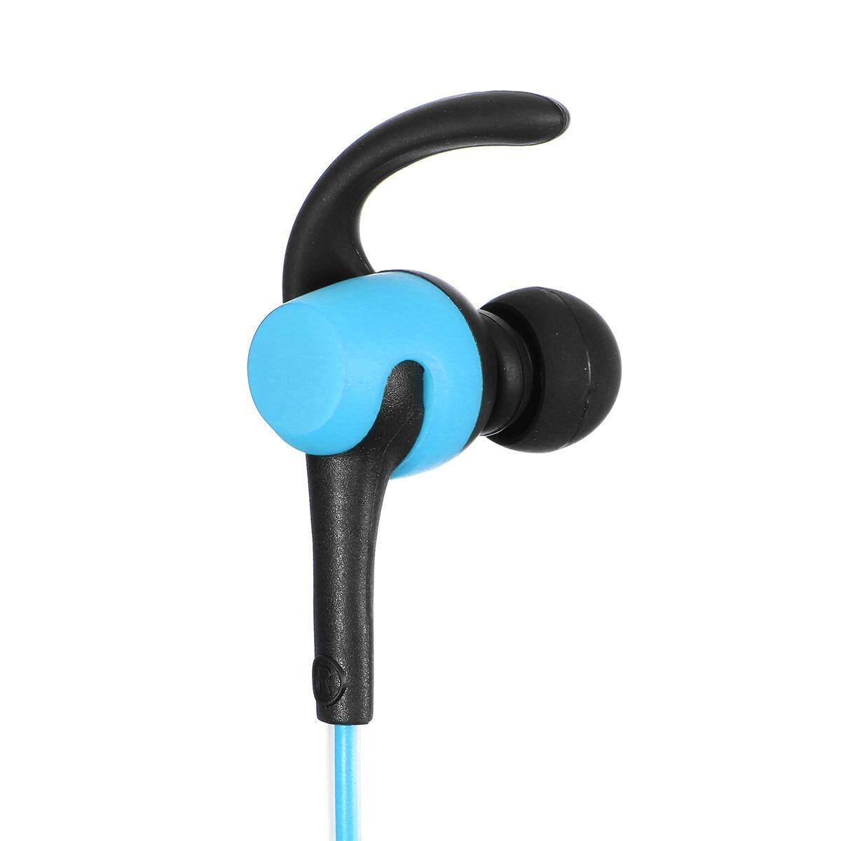 5b1557b1c52 LED Wireless bluetooth Headphone Sport Stereo HIFI Headset Earbud Earphone  Gift Blue - intl