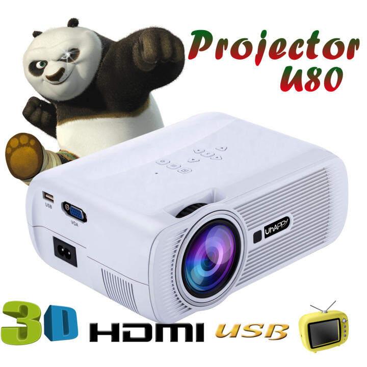 Mini Home Cinema Theater 1080p Hd Multimedia Usb Led: Leegoal 1000 Lumens LCD LED Mini Projector 1080P HD Home
