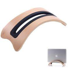 leegoal BookArc Mod For MacBook, White Birch Color Modern Wood Desktop Stand For MacBook Pro (White) Malaysia
