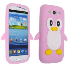 Rp 244.000. Leegoal Pink Penguin Silicone Soft Case Cover for New Samsung Galaxy S3 i9300IDR244000