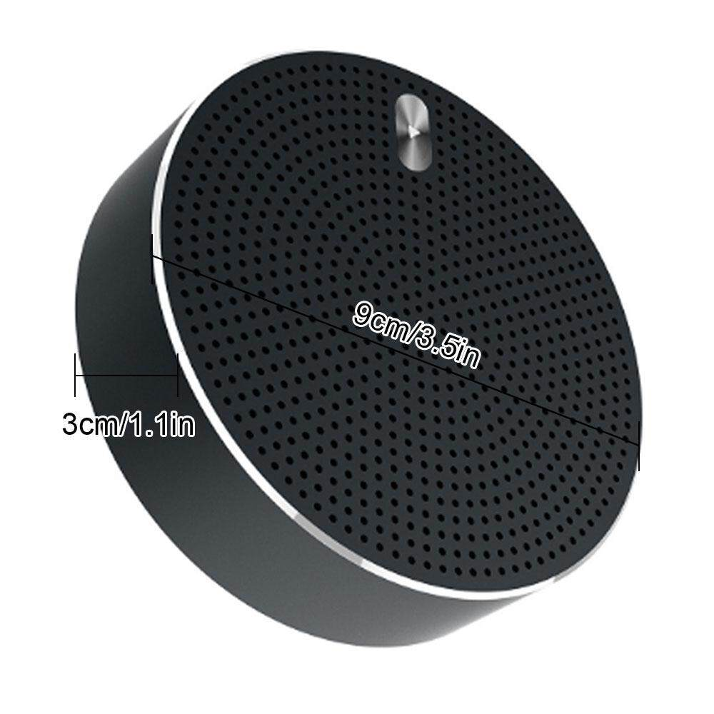 Wireless Stereo Speaker Bluetooth Portabel, Penampilan Fashion Mini, mikrofon Terpasang dengan Distorsi Harmonik dan