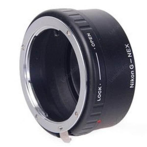 Leinox Ad-48 Cincin Adapter F? R Nikon G Objektive Auf Sony NEX Body + Korrigierenden Lensa Schwarz-Intl