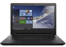 LENOVO IDEAPAD 110-14IBR 80T600AEMJ -BLACK (N3060/4GB/500GB/14HD/W10/1YR) + BAG Malaysia