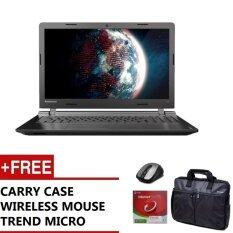 LENOVO 110-15ACL NOTEBOOK 80TJ00LWMJ (AMD A8-7410 QUAD CORE APU WITH AMD RADEON R5 GRAPHICS,4GB,1TB HDD,15.6,WIN10,1YEARS CARRY-IN + ACCIDENTAL DAMAGE PROTECTION) FREE CARRY CASE + WIRELESS MOUSE + TREND MICRO Malaysia