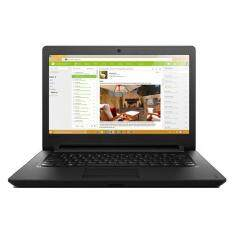 Lenovo Ideapad 110-14IBR 80T600ABMJ 14 Laptop Black ( N3060, 4GB, 500GB, Integrated, DOS) Malaysia
