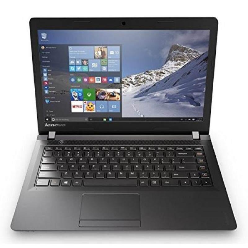 Lenovo IdeaPad 15.6 Inch HD Laptop (Intel Dual-Core Celeron N3060 1.6 GHz Processor, 4GB RAM, 500GB HDD, DVD RW, Bluetooth, Webcam, WiFi, HDMI, Windows 10) Black Malaysia