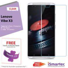 Lenovo Vibe X3 Tempered Glass Protector 0.26mm + 9H Hardness (HD Clear)