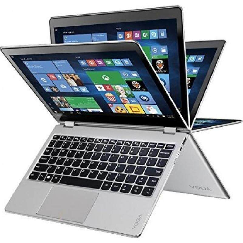 Lenovo Y 710-11ISK 11.6-Inch FHD Touch Laptop (Pentium 4405Y, 4 GB Ram, 128 GB SSD, Windows 10), Silver Malaysia
